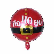10Pcs Kerstman Folie Ballonnen Rode Kleur Kerst Rode Kinderen Speelgoed Home Decoratie Gelukkig Nieuwjaar 2020 Nieuwe Jaar party Suppli