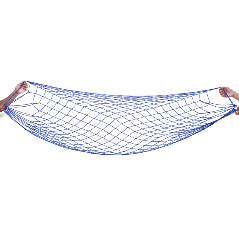 Portable Garden Nylon Swing Hang Mesh Net Sleeping Bed Hammock For Outdoor Travel Camping Hamac Blue Green