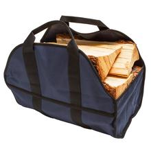 Buy Big Capacity Container Bag 600D High-strength Oxford Cloth Storage Bags Premium Firewood Carrier Stylish Log Tote Dropshipping # directly from merchant!