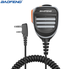 Baofeng Radio Speaker Mic Microfoon Ptt Voor Draagbare Twee Manier Radio Walkie Talkie BF 888S UV 5R UV 5RE UV 6R UV S9 Plus