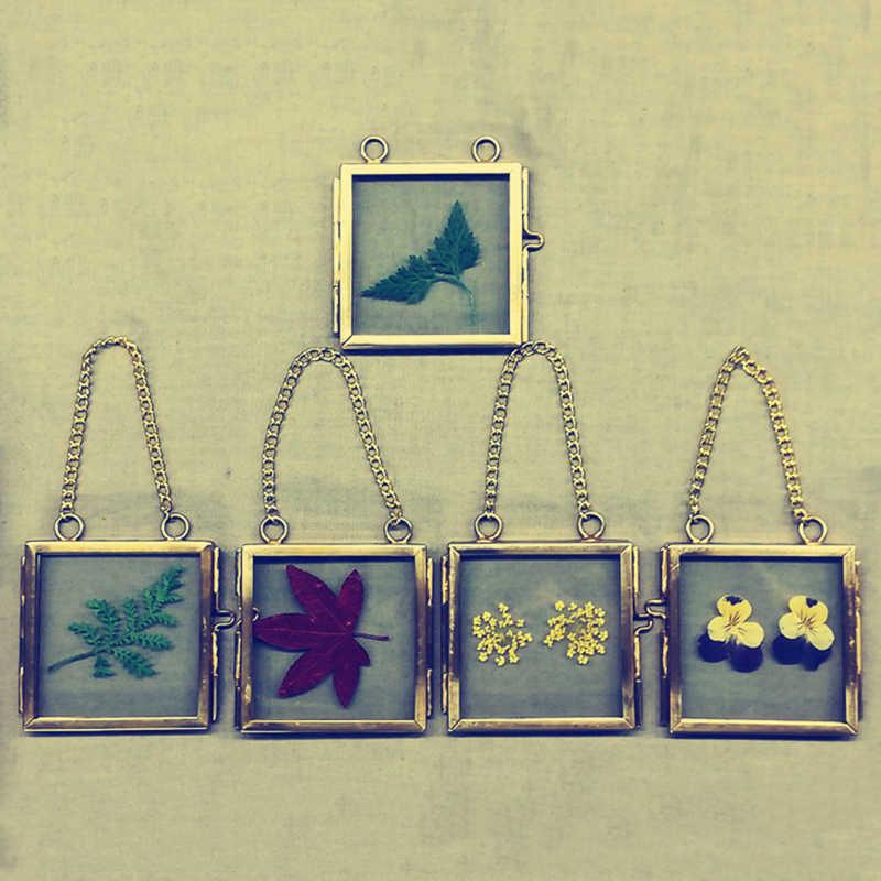 Metal+Glass Photo Frame Picture Vintage Chic Mini Shabby Photo Frame Specimen Clip New Sale
