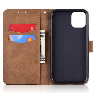 Image 5 - Leather Case For iPhone 12 11 Pro XS Max Mini Phone Bag for iPhone 6 6S 7 8 Plus X XR iPhone11 iPhone12 Wallet Flip Cover