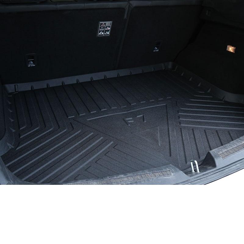 Lsrtw2017 coffre de voiture en cuir Cargo Liner tapis de coffre pour Haval F7 F7x tapis intérieur accessoires autocollant