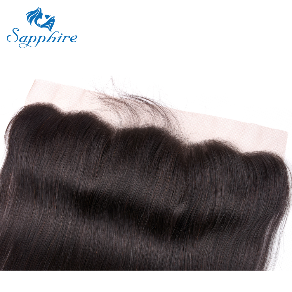 Hf144ae7d99104f3fa71d917b186c6416L Sapphire Straight Hair Frontal With Bundles Human Hair Bundles With Frontal Brazilian Hair Weave Bundles With Closure Frontal