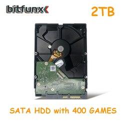 Внутренний жесткий диск BitFunx 2 ТБ 3,5 SATA для PS2 с 400 установленными играми HDD Гарантия один год