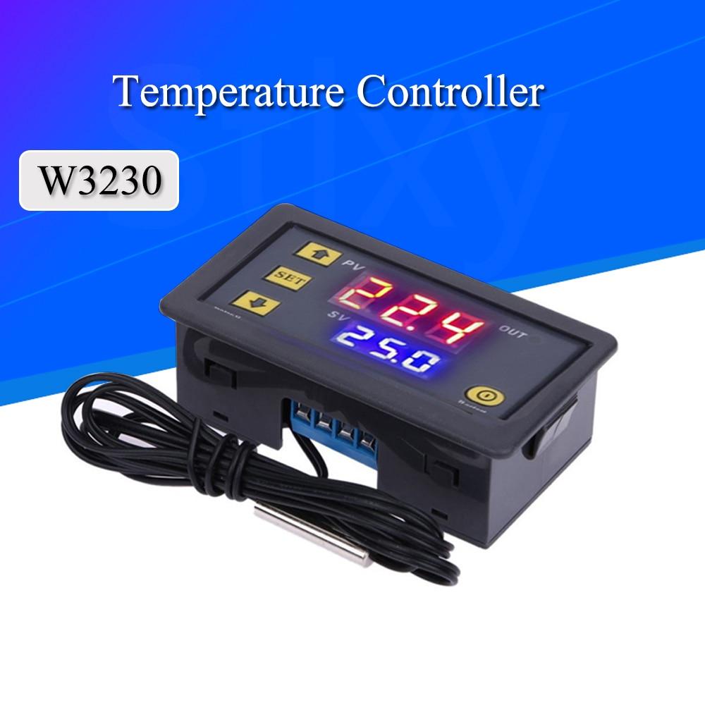 Instruments W3230 10pcs Temperature-Controller-Regulator Digital Thermostat Cool-Control