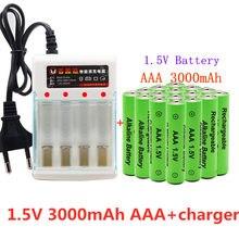 2021 nova marca 3000mah 1.5v aaa bateria alcalina aaa bateria recarregável para controle remoto brinquedo batery fumaça alarme com carregador