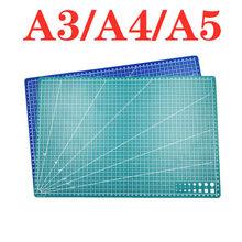 A3 a4 5 pvc tapete de corte bancada retalhos corte almofada costura manual diy faca gravura placa de corte couro único lado underlay
