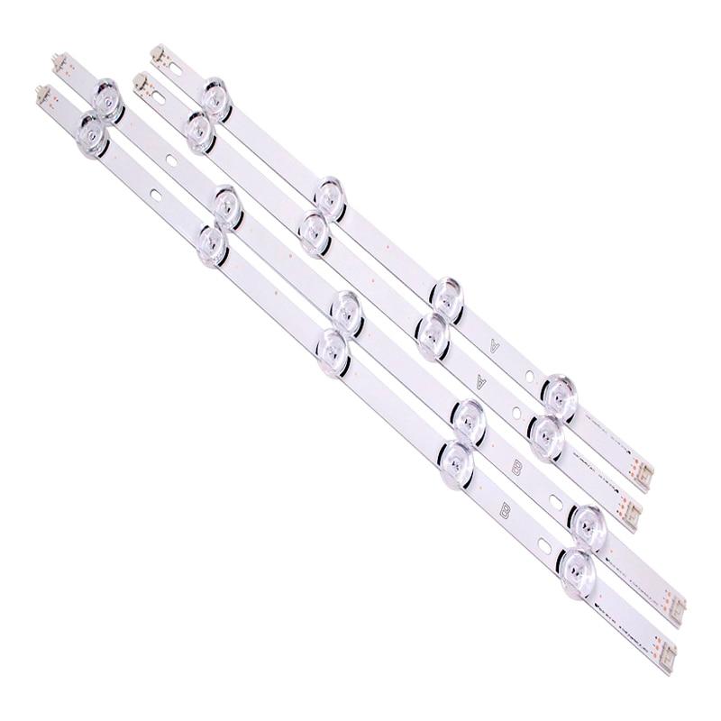 """עכברים - מקלדות רצועת LED אחורית עבור LG 49LB620V Innotek ד.ר.ת 3.0 49"""" 49LB552 49LB629V 6916l-1788A 6916l-1789A 49LF620V 49UF6430 6916L-1944A (2)"""