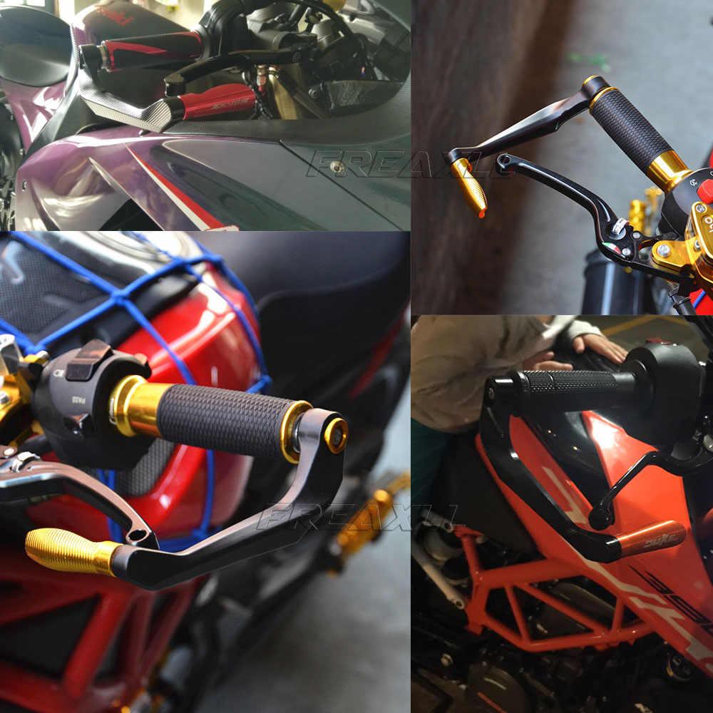 """עבור הונדה CBR125R CB125R CBR250R CBR CB 125R 250R אופנוע 7/8 """"כידון כידון משמר בלם מצמד מנופי יד משמר מגן"""