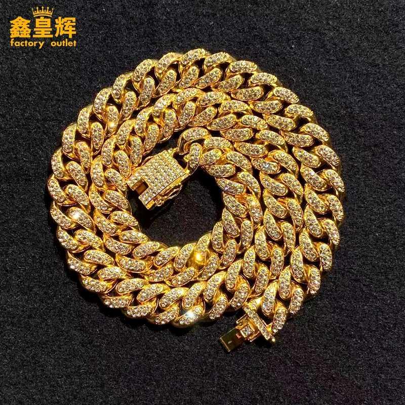 الرجال المجوهرات Ingmar الشرير ميامي كوبا مهد قلادة فستان تعليمات الهيب هوب كبيرة مكتنزة الألومنيوم الذهب هذه سلسلة قلادة النساء