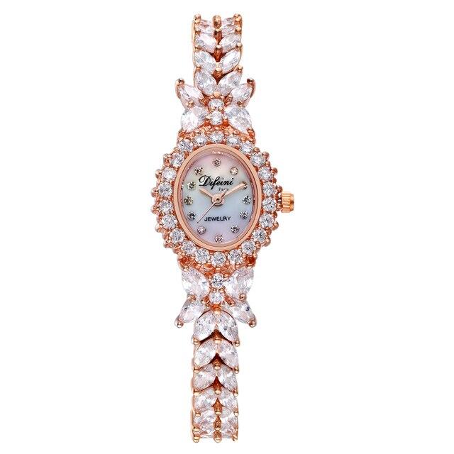 ديفيني سوار ساعة الإناث ساعة عادية موضة السيدات ساعة مقاوم للماء ساعة كوارتز امرأة ساعة الإناث