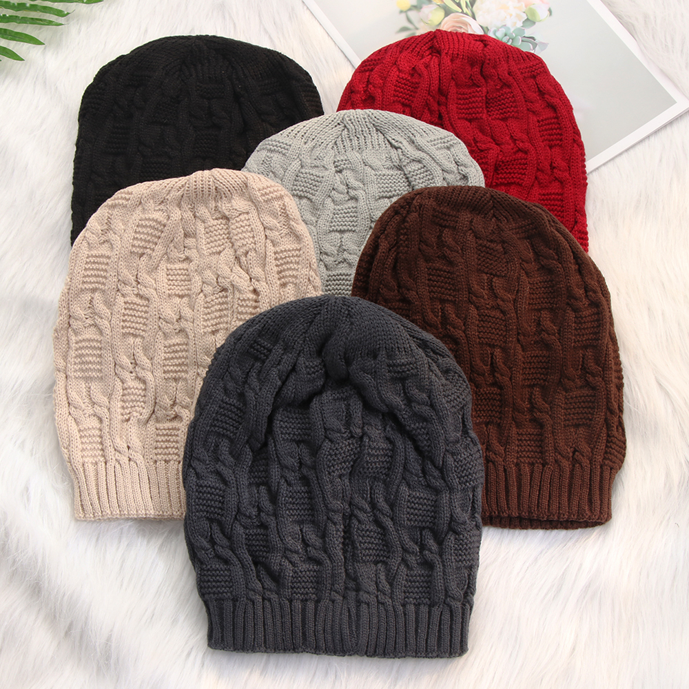 Men/'s Knitted Hats Winter Beanies Stretch Warm Skull Beanie Comfortable Slouch