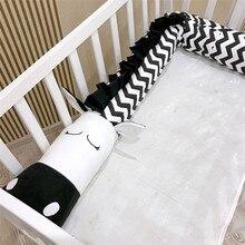 Крокодильская кроватка бампер плюшевые подушки Подушка для кроватки бампер колодки для детской кроватки вкладыш подушки с изображением животных кровать дети новорожденный люлька бампер