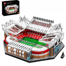 10272 Old Trafford Manchester 3908 Pcs Schepper City Street View Model Building Kits Bakstenen Blokken Toys Kids Gift Compatibel 10202(China)