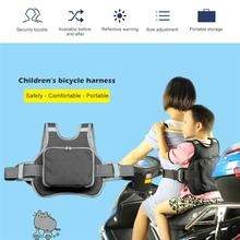 Adjustable Motorcycle Baby Kids Safety Seat Belt Strap Protector Harness Chest Electric For Children