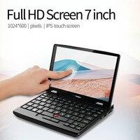 7 Inch Pocket Laptop 8G RAM 512G M.2 SSD Micro PC Computer Touch Screen Small Notebook Windows 10 Pro Bluetooth 4.2 Mini Netbook 1