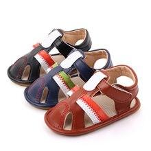 Летняя дышащая нескользящая обувь для маленьких девочек сандалии