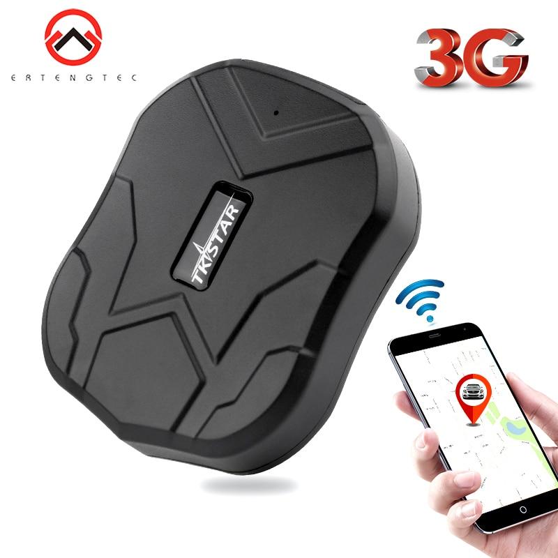 3G GPS Tracker Tkstar 60 Dias de Espera Do Carro TK905 2G/3G Localizador GPS de Rastreamento de Veículos À Prova D' Água ímã Voz Monitor Free Web APP