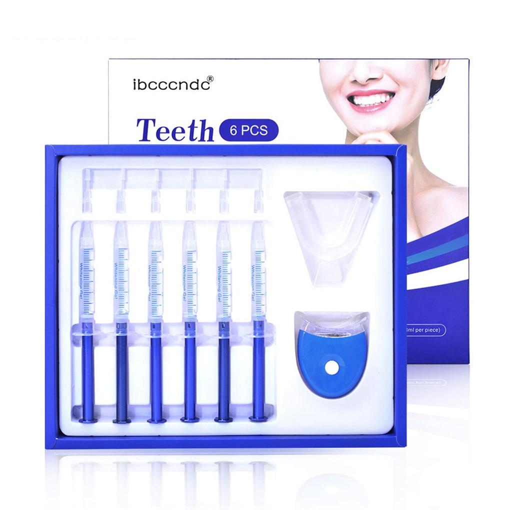 Teeth Whitening Kit Bleaching Clear White Brightening Teeth Gel
