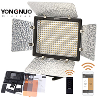 YONGNUO YN 300 III Adjustable Color Camera LED Video Light for Canon Nikon Samsung Sony with IR Remote Phone Operation