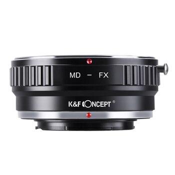 K & F CONCEPT MD-FX adapter do obiektywu pierścień do minolty MD MC mocowanie obiektywu do Fujifilm X mocowanie X-Pro1 korpus aparatu