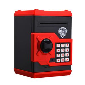 Money-Box Cash-Deposit-Machine Coin Piggy-Bank Mini Atm Gift Password-Chewing Kids-Black