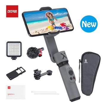 ZHIYUN SMOOTH X  2-Axis Stabilizer Gimbal Palo Selfie Stick Phone Monopod Handheld vlog anti-shake for Smartphone Redmi H