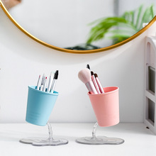 Organizer Pen Makeup-Storage-Box Tableware-Rack Desktop Multifunctional Vase Suspension-Leaking-Ornaments