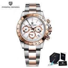Watch Men PAGANI Design Top Brand Luxury Quartz Chronograph Men's Watches Stainless Steel Waterproof Business Watch reloj hombre цена и фото