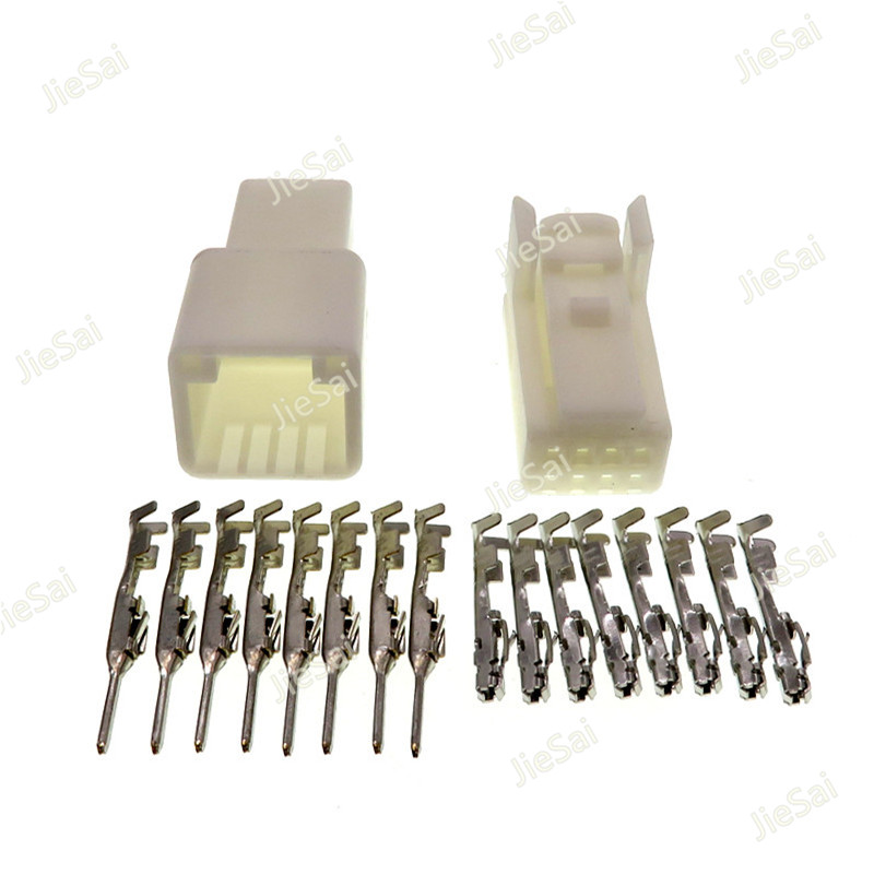 6-10Pin Way 2.3mm Car Audio Electrical Wiring Plug Connector Crimp Terminal Kits