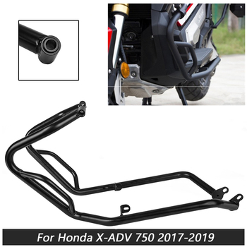 Motorcycle Lower Engine Guard Protector Bumpers Crash Bar Stunt Cage Protection For Honda X-ADV XADV 750 2017 2018 2019 Black