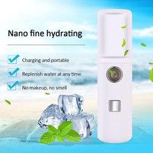 NEW Portable Nano Mist Sprayer Facial Body Nebulizer Steamer Moisturiz