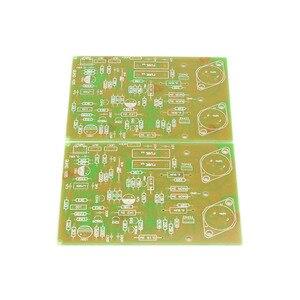 Image 2 - Ücretsiz kargo GZLOZONE çoğaltma QUAD405 altın mühür güç amplifikatörü kurulu PCB AMP (çift)