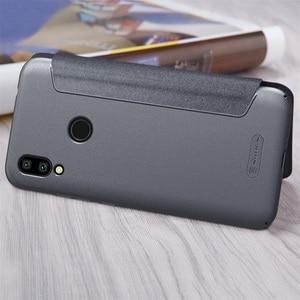 Image 4 - For Xiaomi Redmi 7 5 6 6A Flip Case NILLKIN Sparkle Luxuly super thin flip cover PU leather case for Xiaomi Redmi Y3 Phone Bags