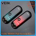 Vape vail moos pod starter kit 1100 mah & 2ml tanque recarregável e cigarro vs justfog c601/renova zero pod sistema e-cig kit