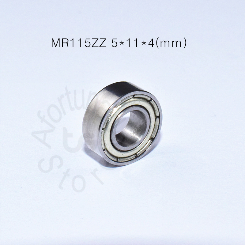 MR115ZZ 5*11*4(mm) 10piecesfree Shipping Bearing ABEC-5 Metal Sealed Miniature Mini Bearing MR115ZZ MR115 Chrome Steel Bearings