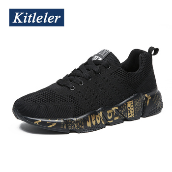 Fashion Men Casual Shoes Lightweight Men Sneskers Breathable Couples Mesh Walking Shoes Summer Comfortable Sneakers Big Size