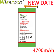 Wisecoco 4700mAh HB4547B6EBC Battery For Huawei Honor 6 Plus 6plus PE-TL20 UL00 TL10 CL00 Phone Latest Production+Tracking Code