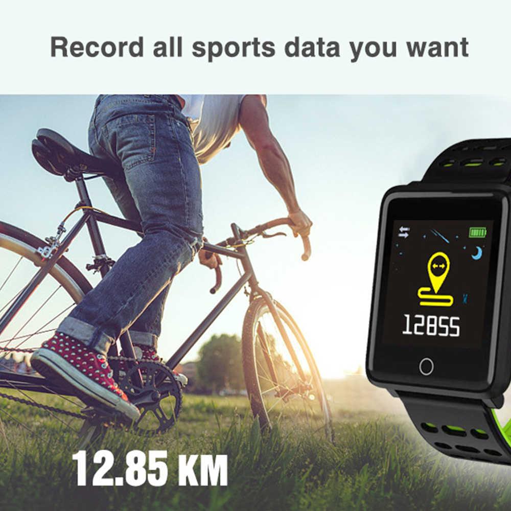อุปกรณ์การแพทย์อุปกรณ์นาฬิกาข้อมือสมาร์ทดิจิตอลแบบพกพาความดันโลหิต Tonometer สำหรับวัดความดันนาฬิกาข้อมือกีฬา