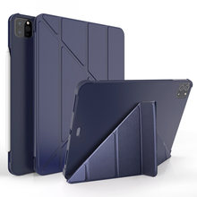 Case for ipad pro 11 2020 with pencil holder pu leather cover