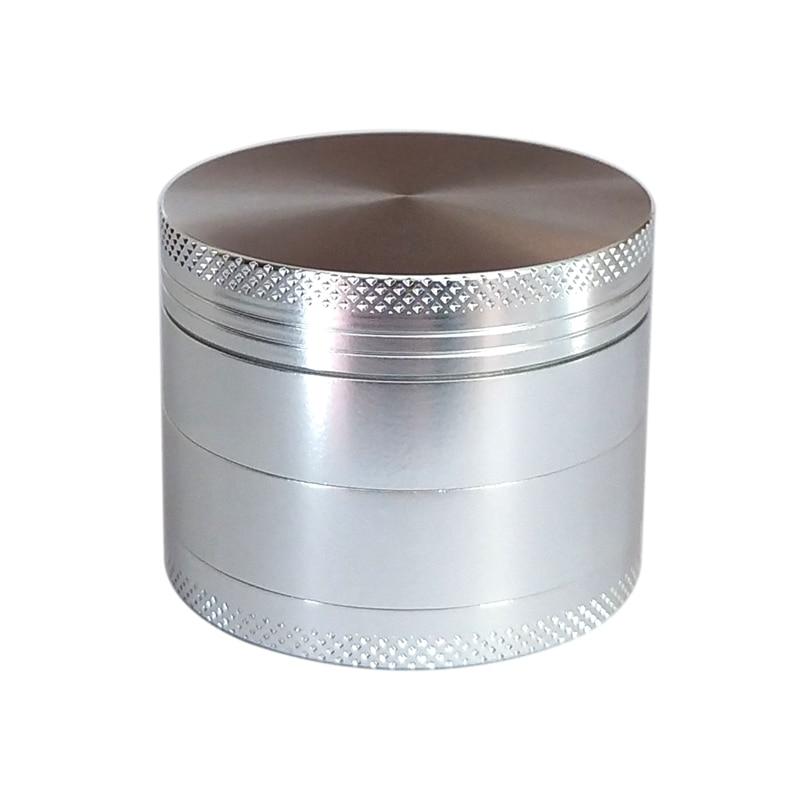 4-layer Aluminum Herbal Herb Tobacco Grinder Smoke Smoking Pipe