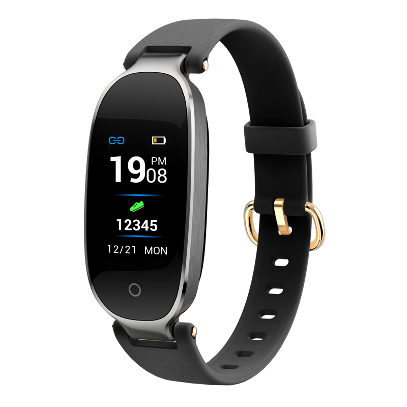 Bluetooth Wasserdicht S3 <font><b>Smart</b></font> Uhr Mode Frauen Damen Herz Rate Monitor Fitness Tracker Smartwatch <font><b>Mujer</b></font> Für Android IOS image