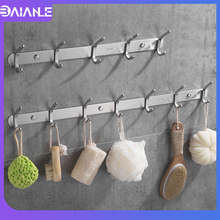 304 Stainless Steel Robe Hook Bathroom Hooks for Towels Key Bag Hat Clothes Rack Decorative Coat Hooks Wall Mounted Door Hanger robe hook wall mounted wood coat hooks rack natural decorative bathroom hook for towels key bag caddy clothes hanging hanger