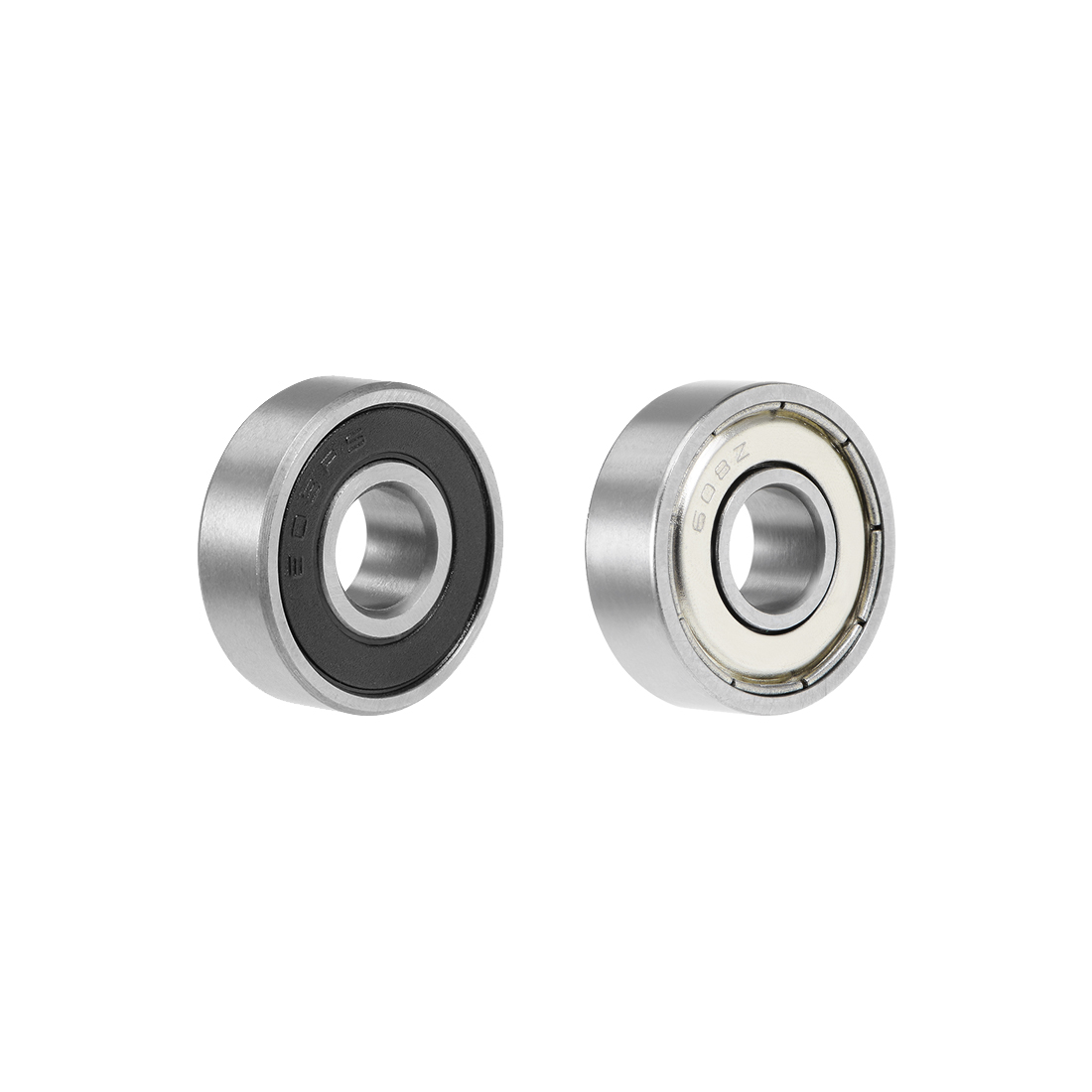 Uxcell 1-20pcs 8mm Bore Deep Groove Bearing Double Shielded/Sealed Miniature Ball Bearings 608zz 628zz 638zz 698zz