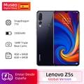 Globale version Lenovo Z5s Snapdragon 710 Octa Core 64GB SmartPhone Gesicht ID 6,3 AI Threefold zurück kamera Android P zelle