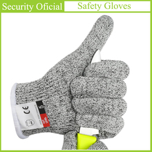 Anti-Cut Gloves EN388 Cut-Resistant Level 5 Safety Cut Proof Stab Resistant Self Defense Supplies Kitchen Butcher