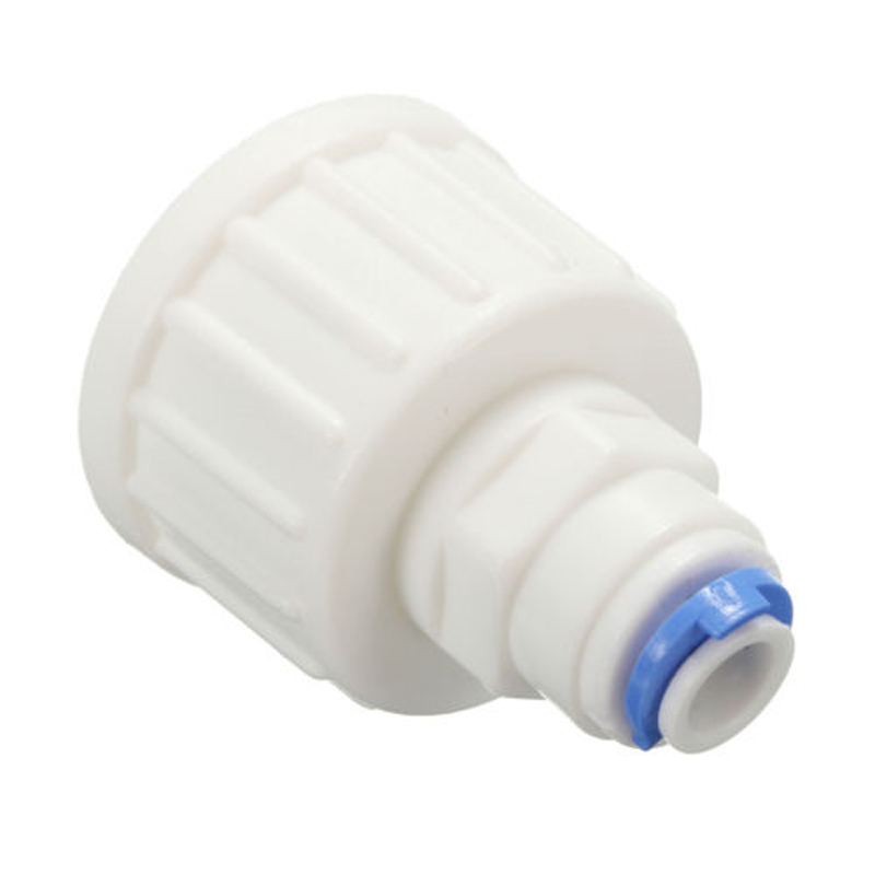 Garden 3/4'' <font><b>BSP</b></font> to <font><b>1/4</b></font>'' Tube Push Fit Tap Connector Osmosis Reverse RO Water Filter Tube Injector Connector Fitting Accessorie image