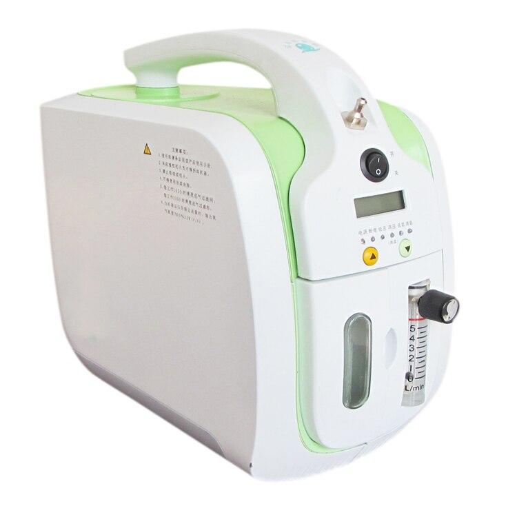 0-5L/min koncentrator tlenu przenośny tlen bar generator tlenu z ciągłym przepływem tlenu z nebulizerem dom/samochód/na zewnątrz