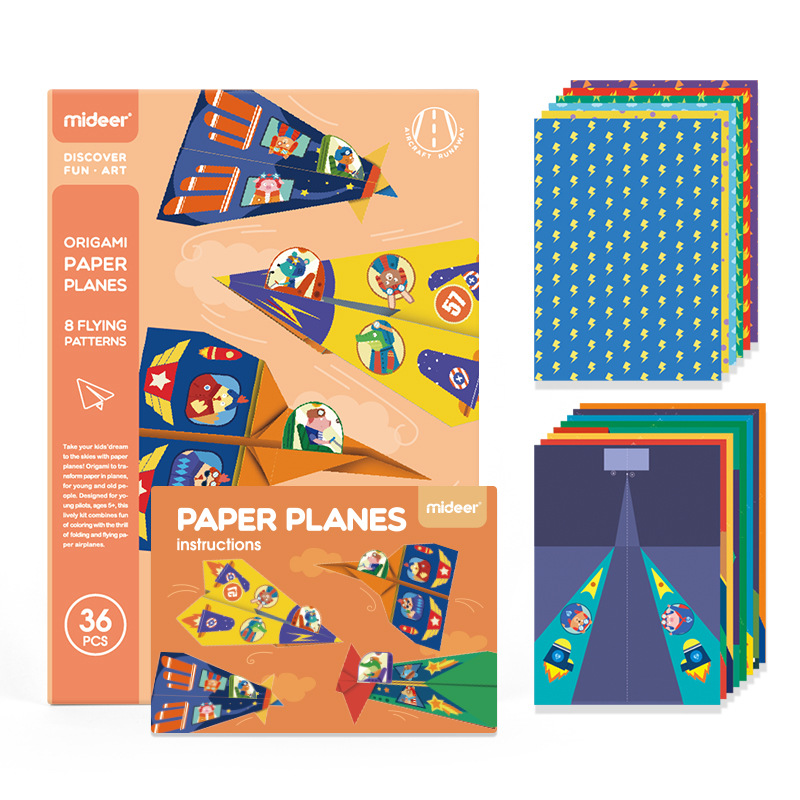 10 clever ideas for paper airplanes for kids   800x800